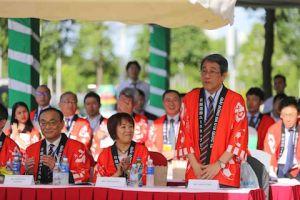 Đại sứ Umeda Kunio tại lễ khai mạc