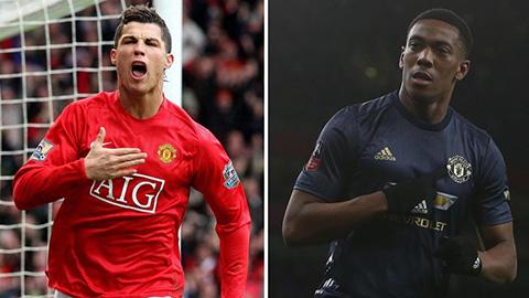 Anthony Martial có đủ tiềm năng để trở thành một Cristiano Ronaldo thứ hai