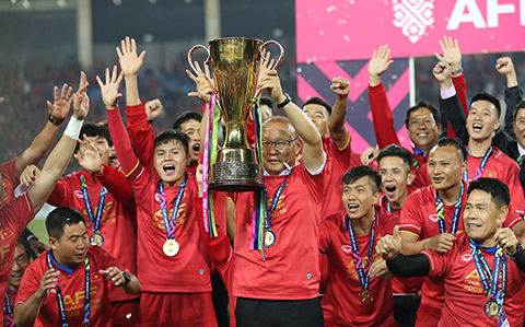 HLV Park Hang Seo giúp Việt Nam trở lại là số 1 Đông Nam Á