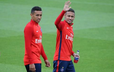 Marquinhos trái tin rằng việc Neymar chia tay PSG chỉ là vấn đề thời gian