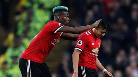 Pogba vẫn luôn so đo với Sanchez về mức lương