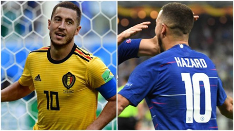 Real đau đầu nghĩ số áo cho Hazard